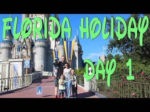 FLORIDA HOLIDAY - DAY 1 - The Journey