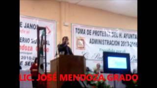 LIC.  JOSE MENDOZA GRADO11/OCTUBRE/2013