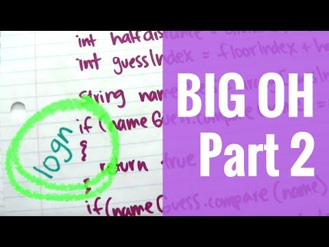 The Big Oh! (Part 2) | Algorithm Analysis