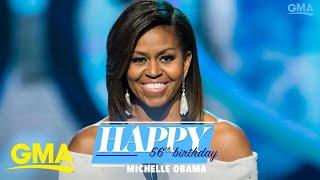 Happy birthday, Michelle Obama! l GMA Digital
