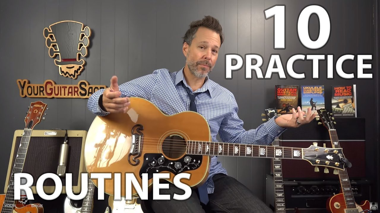 10 guitar practice routines to get you out of that rut youtube. Black Bedroom Furniture Sets. Home Design Ideas