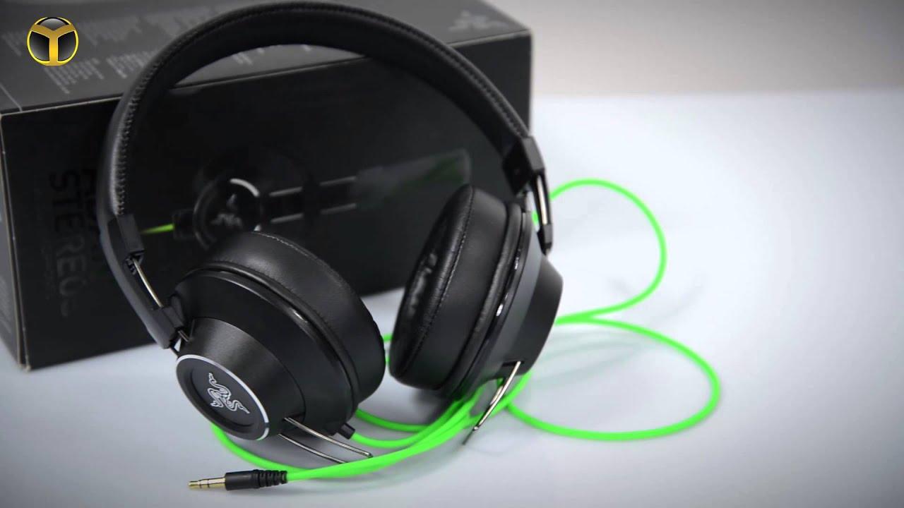Razer Adaro Stereos Kulaklık İncelemesi - YouTube
