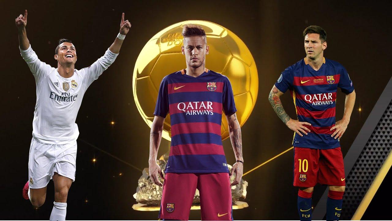 FIFA 16: Ballon D'Or 2015 Messi vs Ronaldo vs Neymar - YouTube