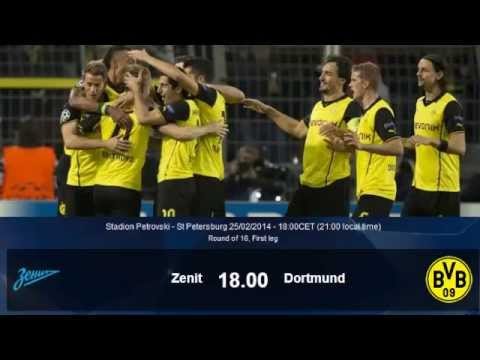 FC Zenit vs Dortmund 25/02/14 Pre Match Talk About goals n Stuff  Result Zenit: 2-4 Dortmund