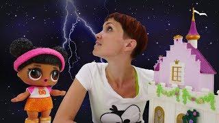 Пони и куклы Лол. Видео для детей. Веселая школа