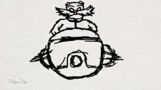 Sans vs Eggman test animation loop