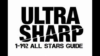 Ultra Sharp Level 1-192 All Stars Walkthrough | ULTRA SHARP COMPLETE GUIDE