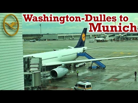 Full Flight: Lufthansa A330-300 Washington-Dulles to Munich (IAD-MUC)