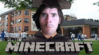 ESCAPANDO DEL COLEGIO | Minecraft Just Got Schooled (1) - JuegaGerman
