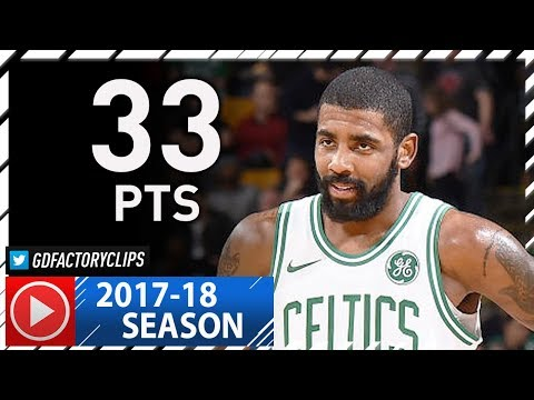 Untucked Kyrie Irving Full Highlights vs Nuggets (2017.12.13) - 33 Pts, 7 Ast, NASTY!