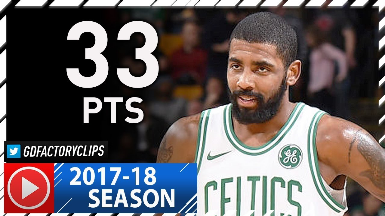 620830955d6 Untucked Kyrie Irving Full Highlights vs Nuggets (2017.12.13) - 33 ...