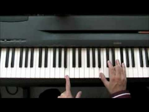 How to play Michael Jackson - Billie Jean - Piano Lesson