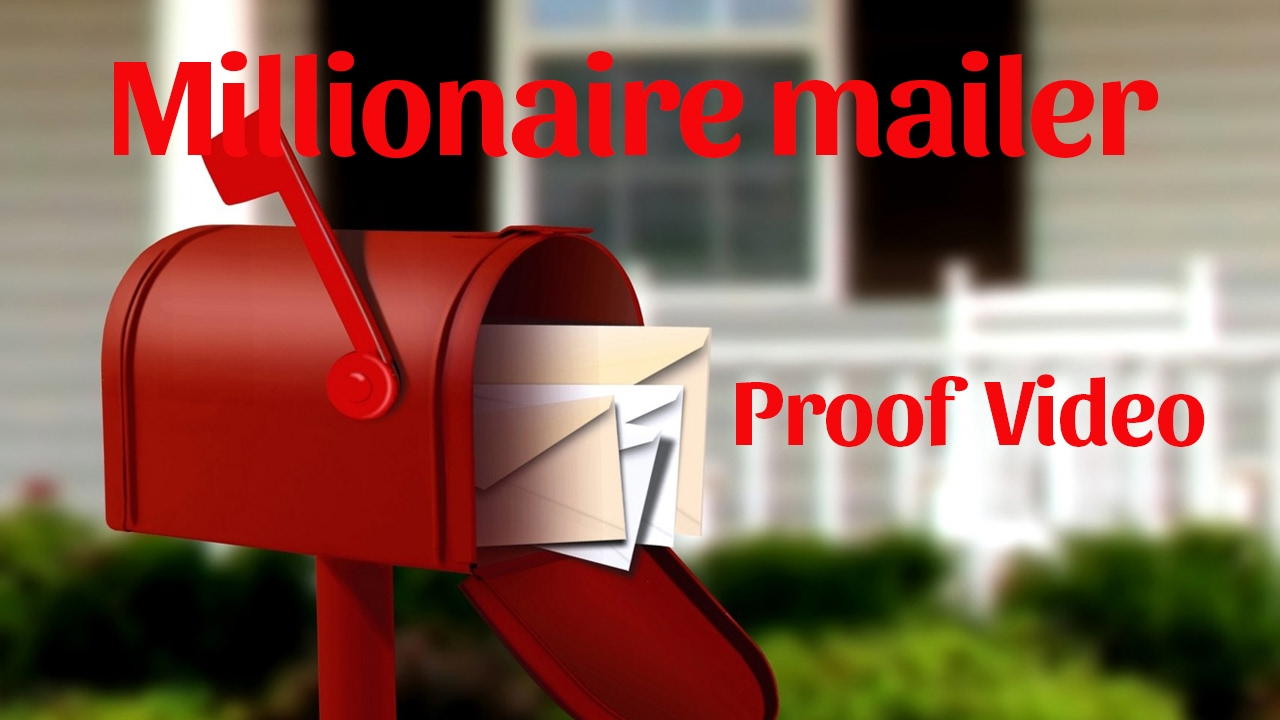 The Millionaire Mailer® | America's #1 Home Based Mail Order Business!