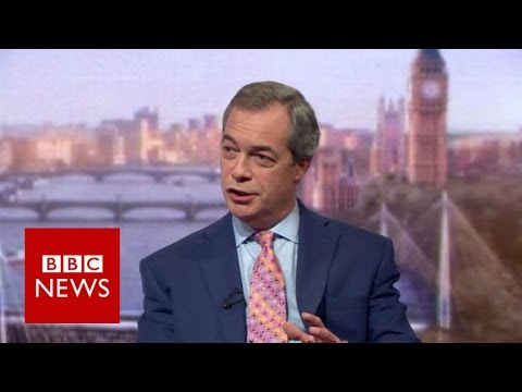Farage: 'Cameron's deal is small fry, people will vote on big issues such as migration' BBC News