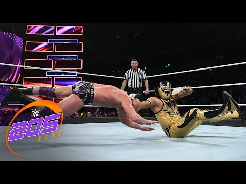 Gran Metalik vs. Local competitor: WWE 205 Live, Oct. 31, 2018