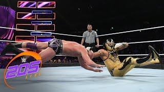 Gran Metalik vs. Local competitor: WWE 205 Live, Oct. 31, 2018