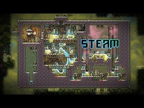 Natural Gas Steam Generator Experiment! Oxygen Not Included