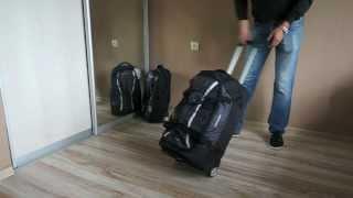 видео сумки на колесах