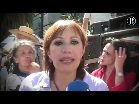 Cerca de 2 000 personas protestan contra López Obrador en Ciudad de México
