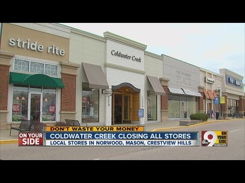 Coldwater Creek closing all stores