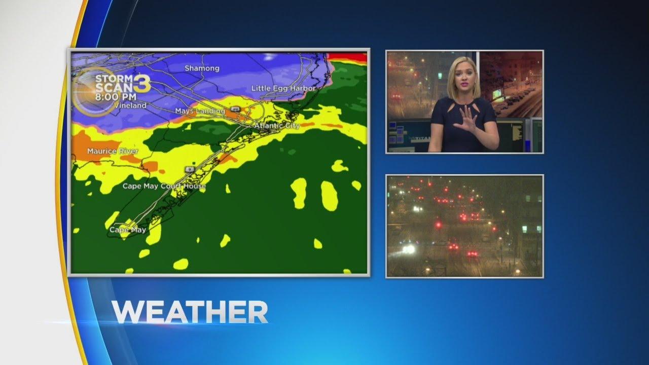 Lauren's Saturday 8 PM Weather Update 2/17