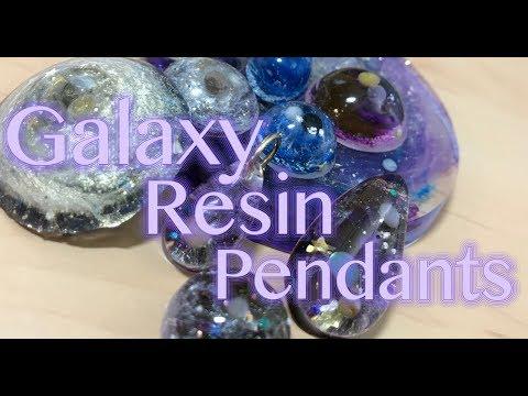 Galaxy Pendants | Resin Tutorial