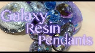 Galaxy Pendants | Resin Tutorial
