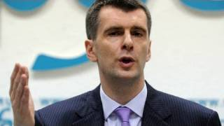 Critics: Prokhorov a stooge, clown