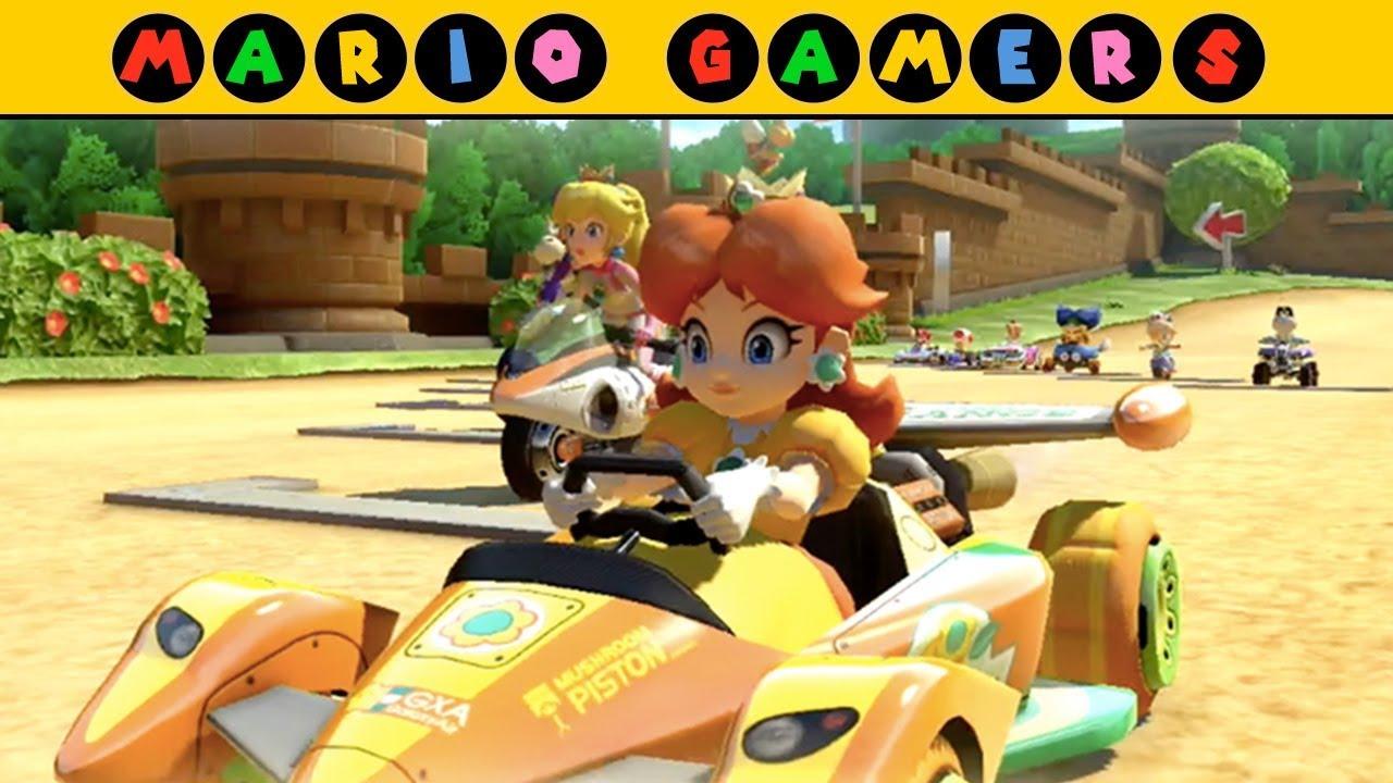 Mario Kart 8 Deluxe Lightning Cup 100cc Grand Prix Mode