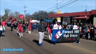 Forest Hill High School Marching Band - 2016 Martin Luther King Parade (Kenneth Stokes)