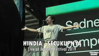 Download lagu HINDIA - Secukupnya (Live at Joyland Festival 2019)