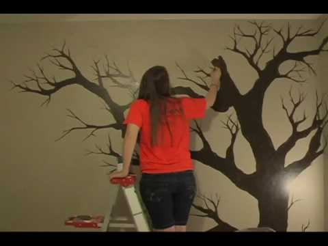 Tree Painting Wmv Youtube