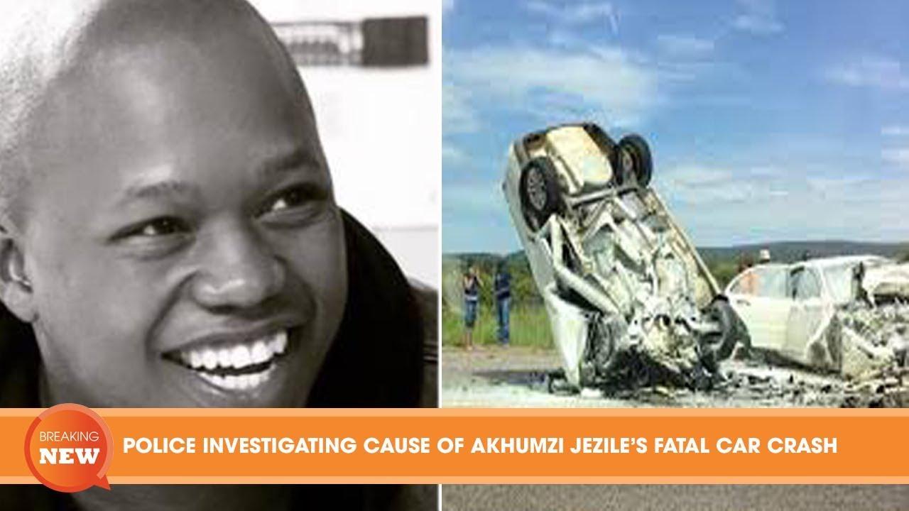 hot  police investigating cause of akhumzi jezile u2019s fatal