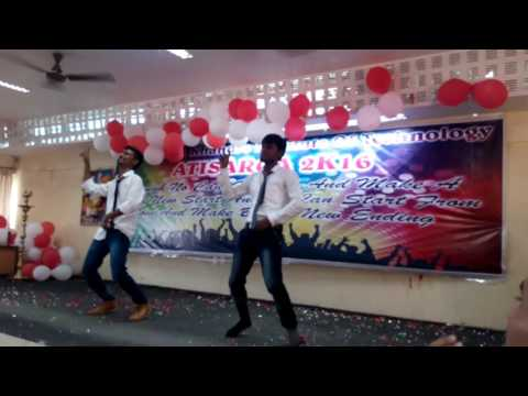 NEW LAZY DANCE ROCKSTAR GROUP BKIT BHALKI CSE DEPT FAREWELL 2k16