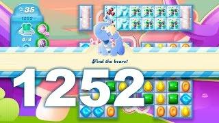 Candy Crush Soda Saga Level 1252 (3 stars, No boosters)