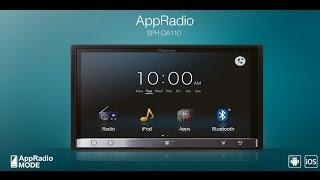 Магнитола Pioneer AppRadio SPH-DA110 (распаковка)