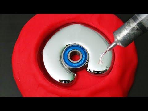 DIY Liquid Gallium Fidget Spinner
