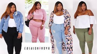 PLUS SIZE BACK TO SCHOOL TRY ON HAUL FT. FASHION NOVA CURVE