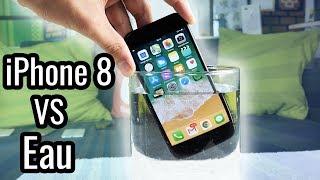 iPhone 8 VS Eau : Test Waterproof !