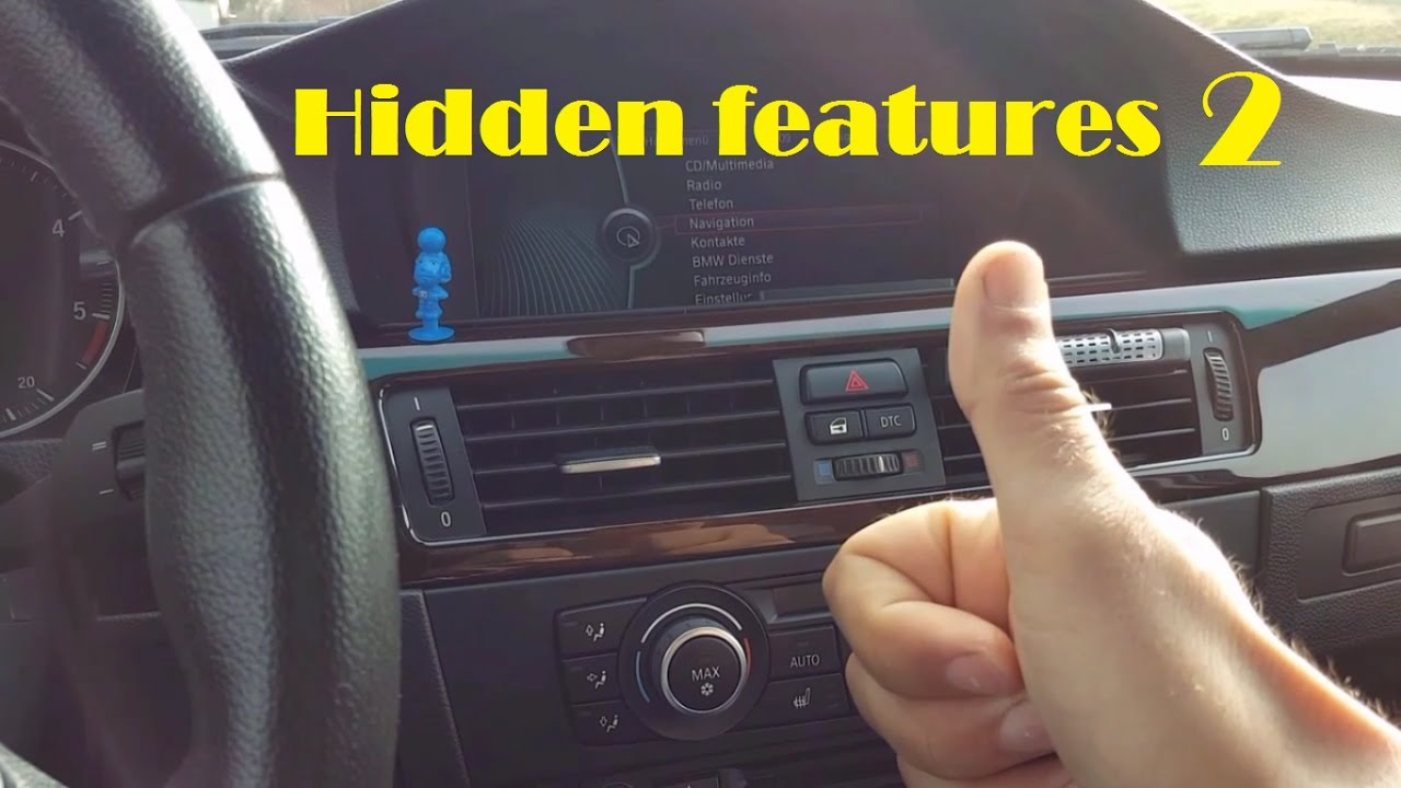 Bmw Tipps and Tricks 2 (hidden features)