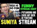 SUMIYA vs Trashtalker SEA Server Funny Game   Sumiya Invoker Stream Moment #282
