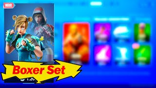 Boxer Set!| Moxie Skin + Ready-to-Hit Axe| Fortnite Shop from 15.9.19