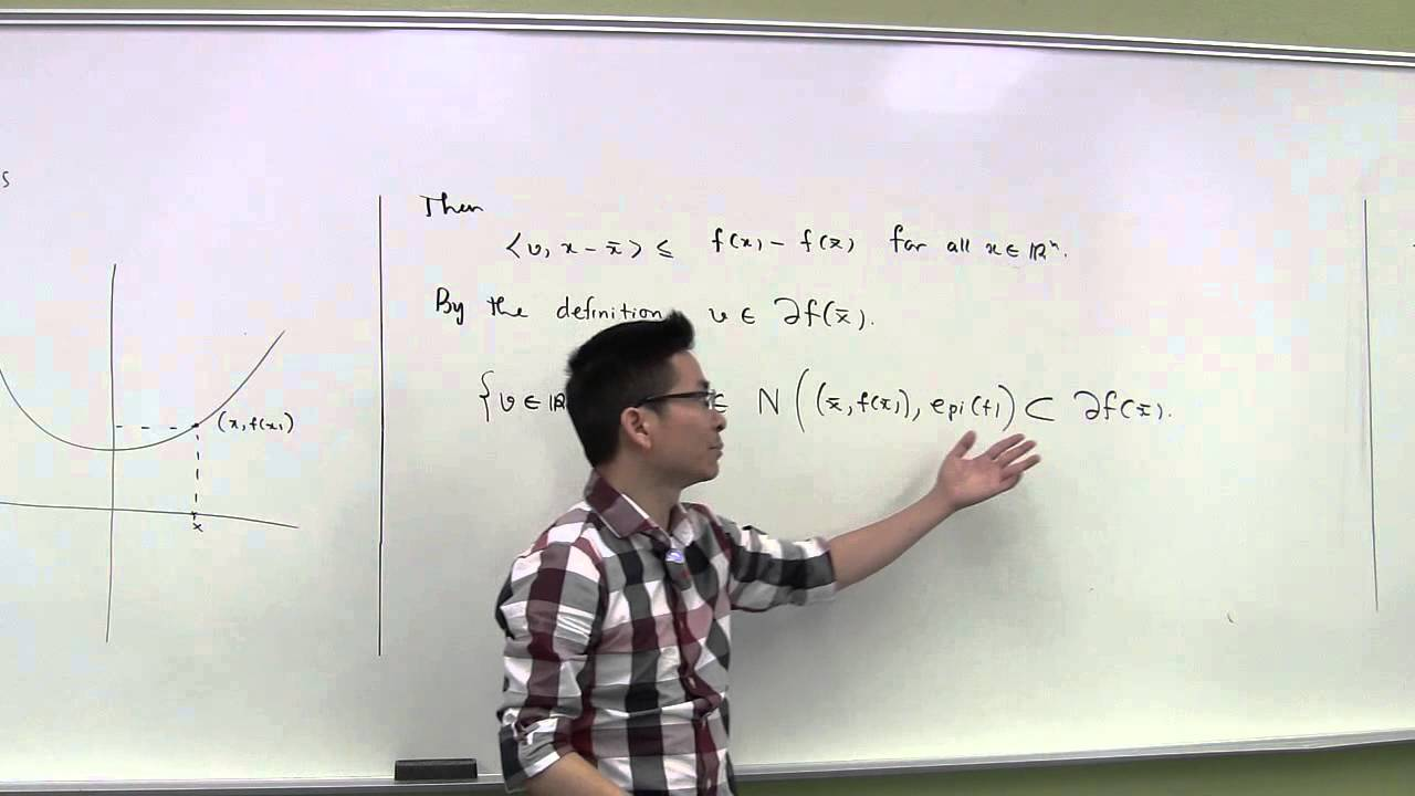 the subdifferential sum rule - pt 1