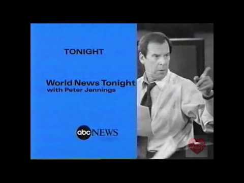 World News Tonight with Peter Jennings | ABC | Promo | 1999