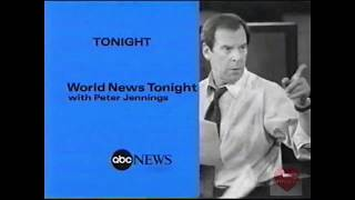World News Tonight with Peter Jennings | ABC | Promo | 1999 thumbnail