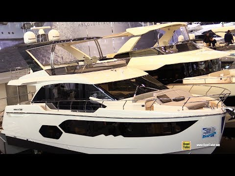 2018 Absolute 58 Fly Yacht - Walkaround - 2018 Boot Dusseldorf Boat Show