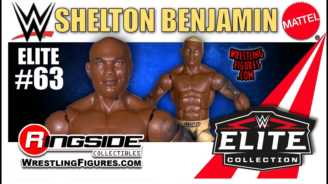 Wwe Figure Insider Shelton Benjamin Mattel Wwe Elite 63 Youtube
