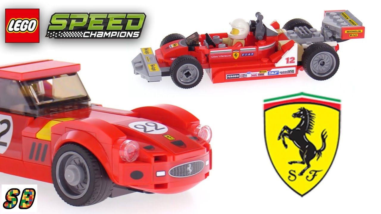 lego speed champions 2018 ferrari ultimate garage 75889 youtube. Black Bedroom Furniture Sets. Home Design Ideas