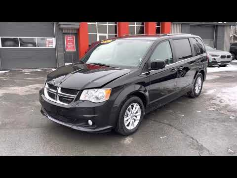 Dodge Grand Caravan 2019 , damage front and rear , Canadian salvage title , a vendre, stock # 91030