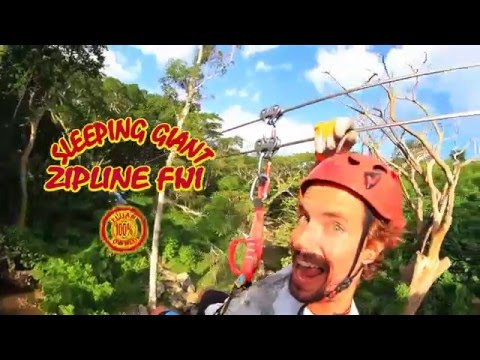 Sleeping Giant Zipline Fiji